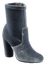 Kiss Me In My Velvet Heeled Booties