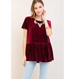 Lead the Way Velvet Top