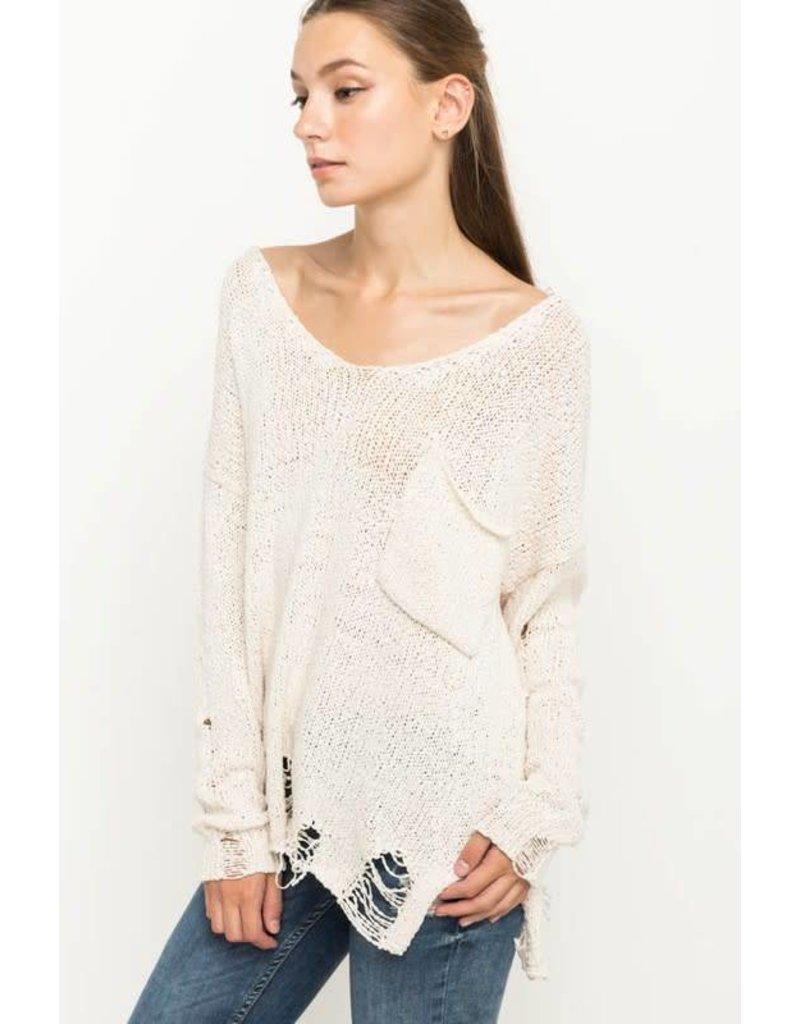 Like a Ghost Sweater