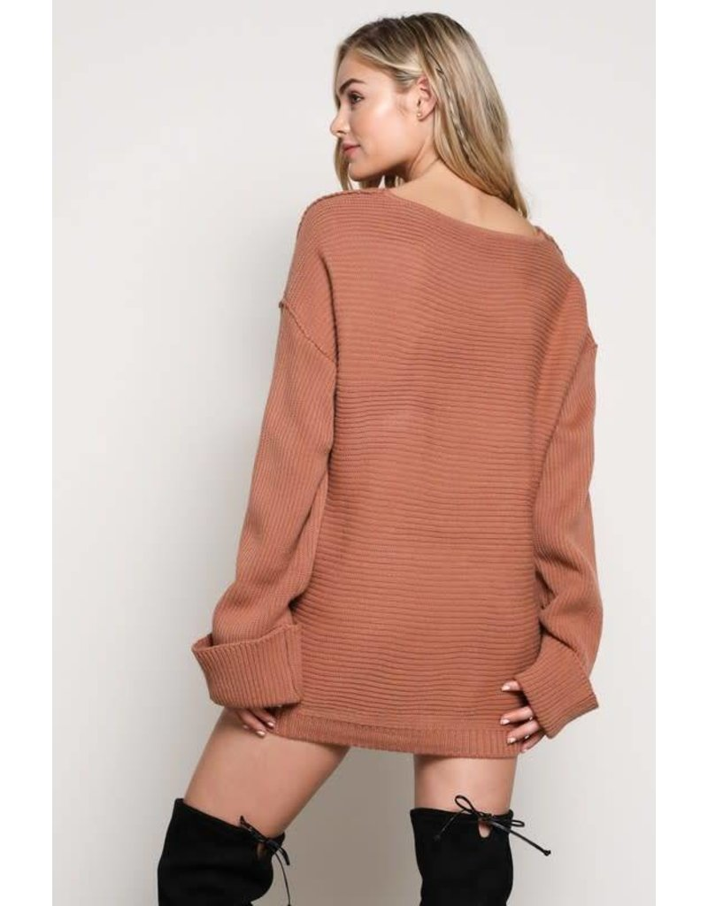 Hanging On Sweater