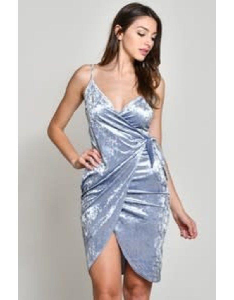 Lovesick Crushed Velvet Dress