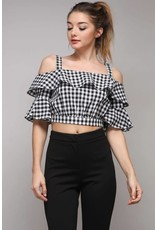 On The Edge Crop Top