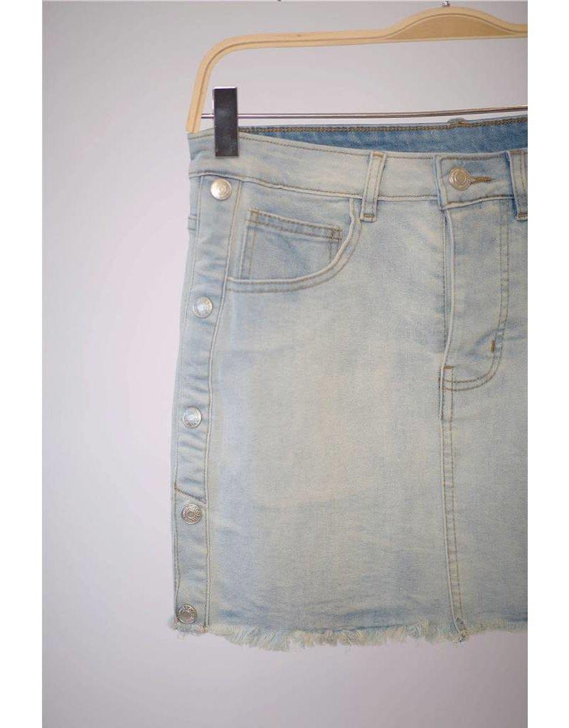 Free To Be Denim Skirt