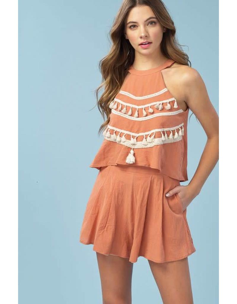 Going to Greece Romper
