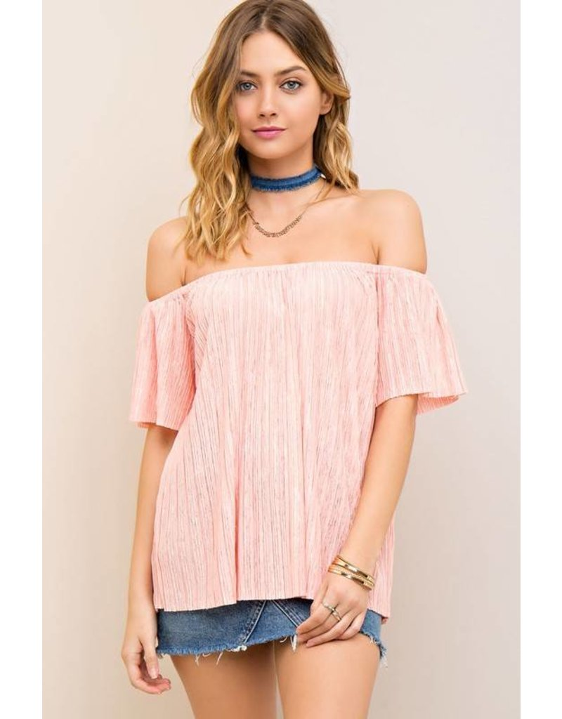 Crushin' On You Off Shoulder Top