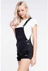 Helena Distressed Overalls