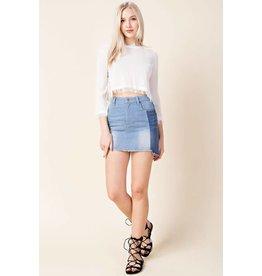 South Beach Denim Skirt
