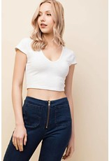 Over the Moon Cropped Top