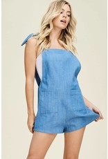 Treasure Me Denim Romper