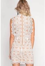 Delicate Lace Dress