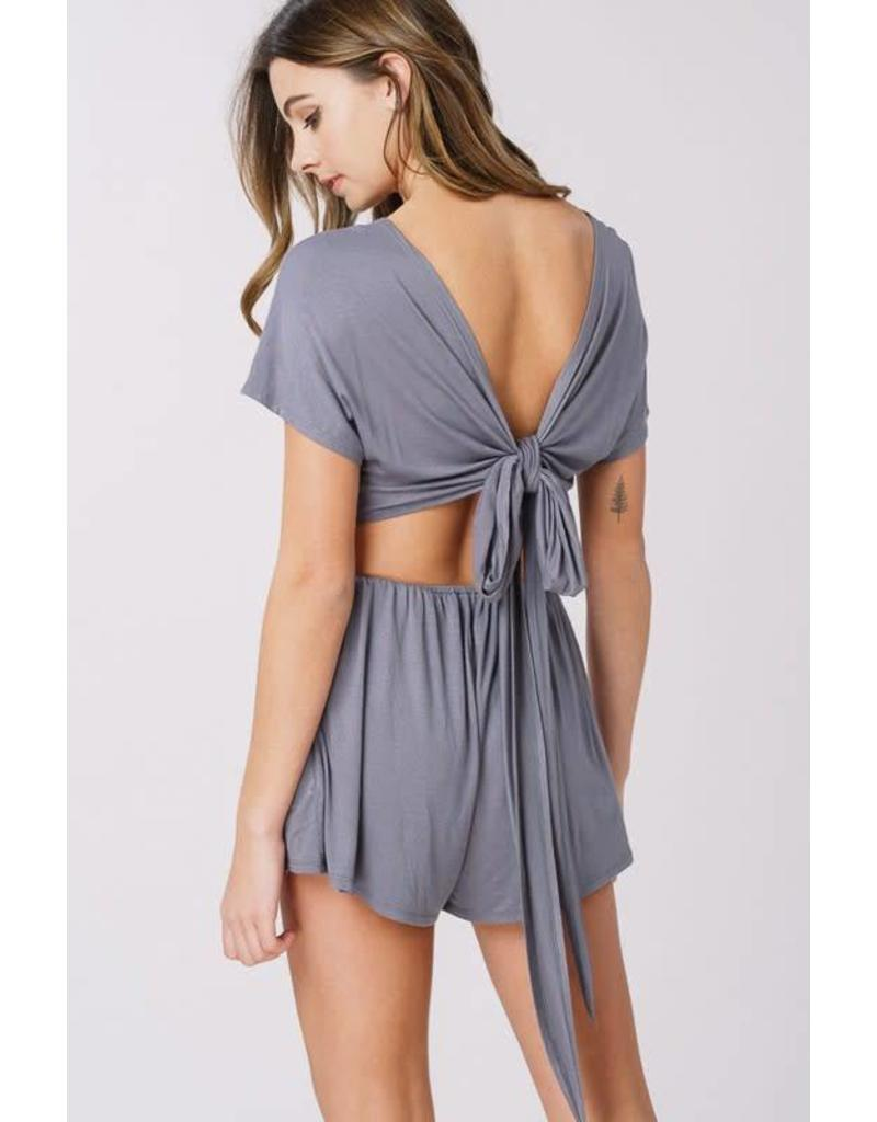Mixed Emotions Romper