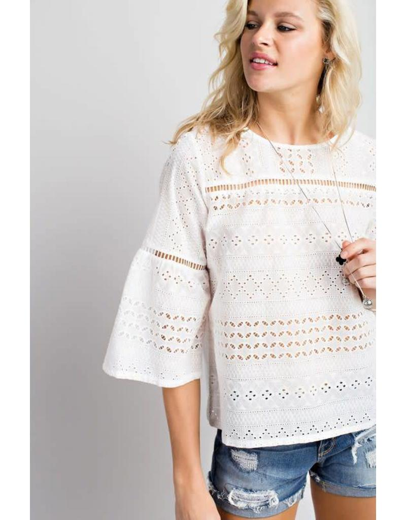 Everlasting Embroidered Top