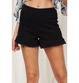Midnight Denim Shorts