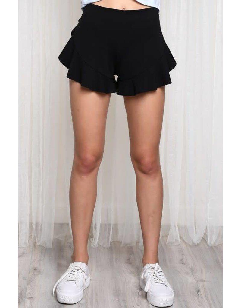 Charlotte Ruffle Shorts