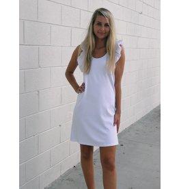 Love Forever More Ruffle Dress