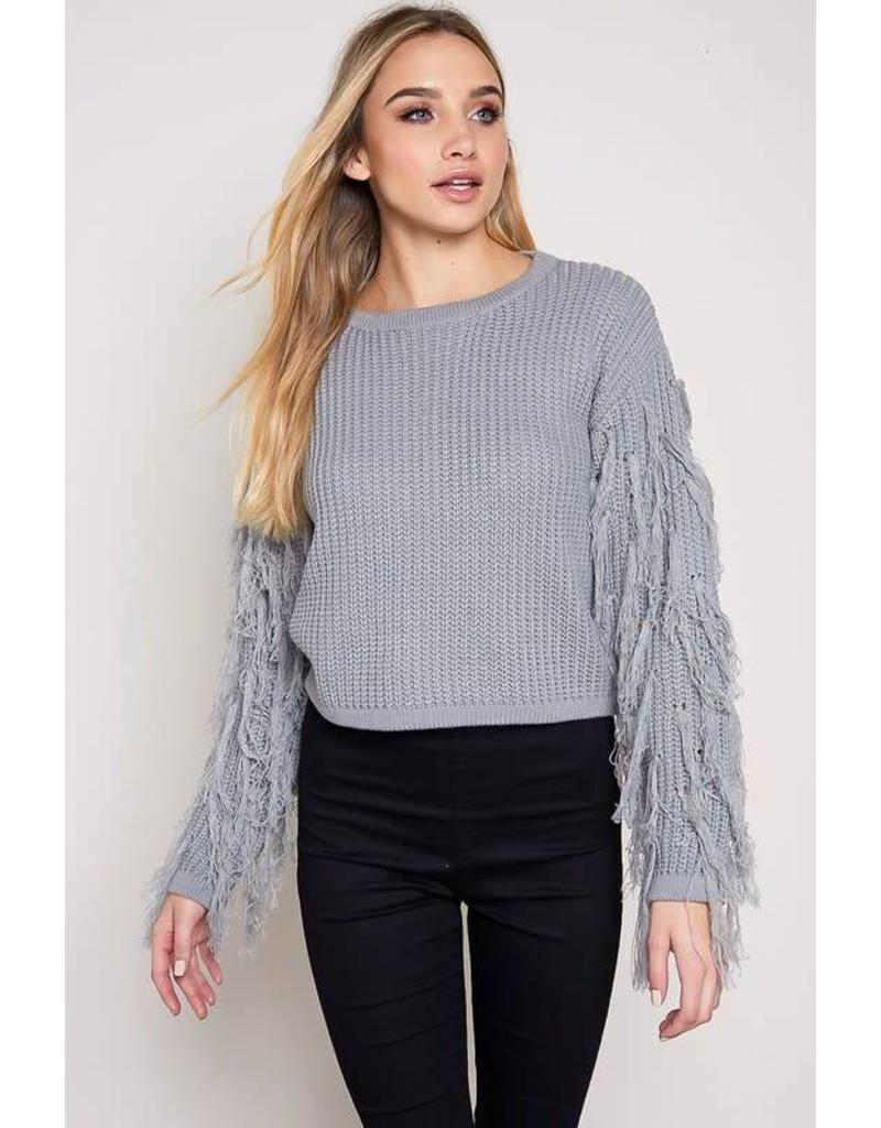 What the Fringe Sweater