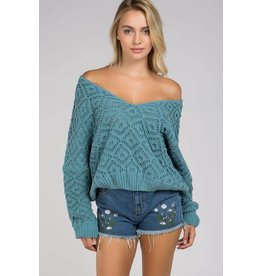Loosen Up V-Neck Sweater