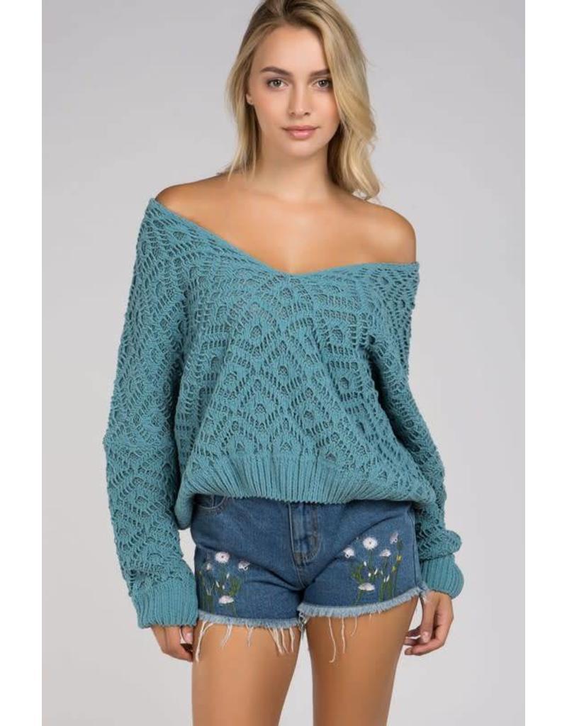Loosen Up V-Neck Sweater