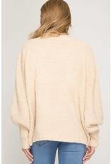 Just For Comfort Turtleneck Sweater
