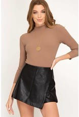 Must Have Leather Shorts
