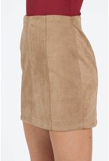 Easy Day Suede Skirt