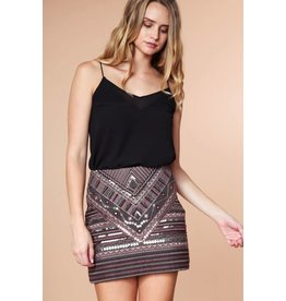Sequined Stunner Skirt