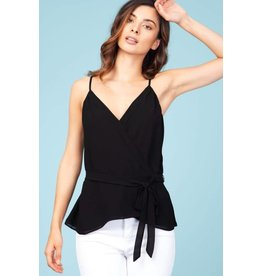 Carrie Wrap Top