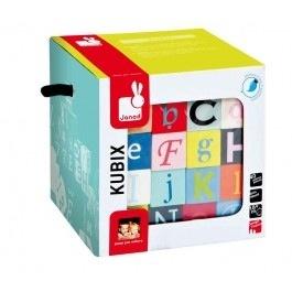 Janod Kubix 40 Blocs Lettres et Chiffres Janod-40 Letters and Number Blocks