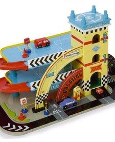 La Station Service de Mike-Auto Garage de Toy Van
