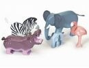 Le Toy Van Ensemble d'Animaux Sauvages -Wild Animals de Van Toy