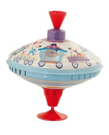 Grande toupie train<br /> Large spinning Top Moulin Roty