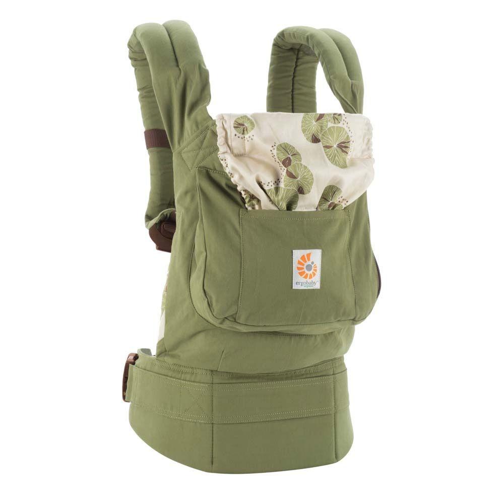 ERGObaby Porte-Bébé Bio ERGObaby Organic Baby Carrier- Zen (Vert)