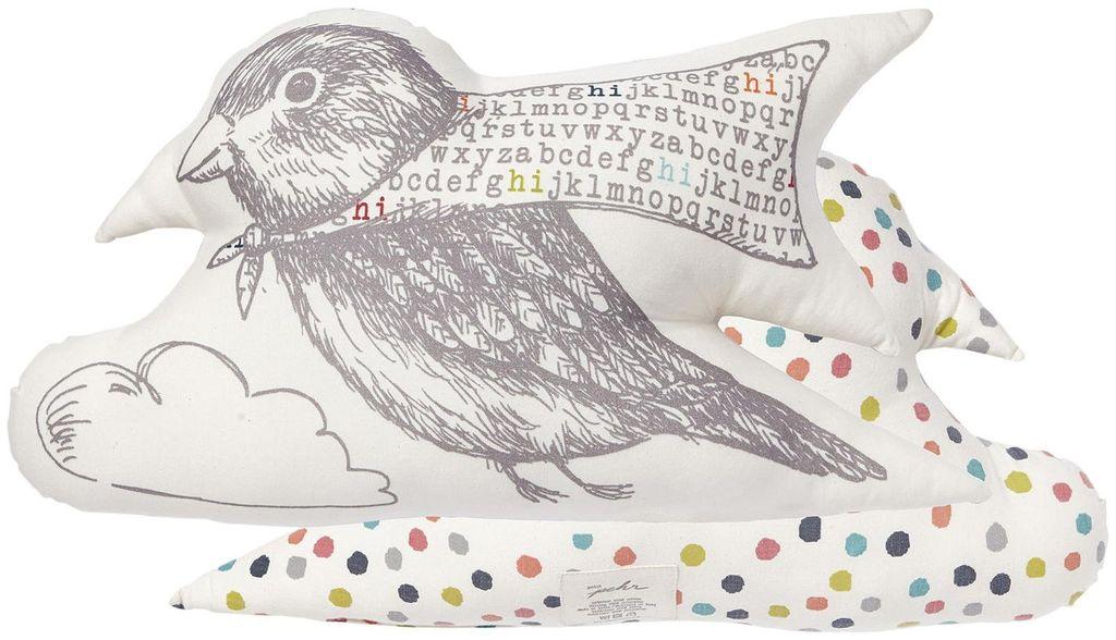 Petit Pehr Coussin Oiseau de Petit Pehr/Let's Fly Bird Pillow