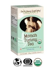Earth Mama Angel Baby - Tisane pour l'estomac de maman -  Mama's Tummy/Heartburn Tea