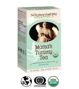 Earth Mama Angel Baby Earth Mama Angel Baby - Tisane pour l'estomac de maman -  Mama's Tummy/Heartburn Tea