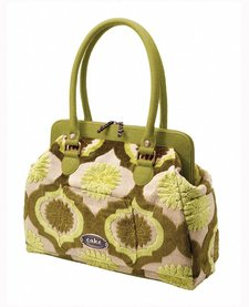 Sac à couches Petunia Pickle Bottom Cake Cosmopolitan Carryall - Key Lime Cream Cake