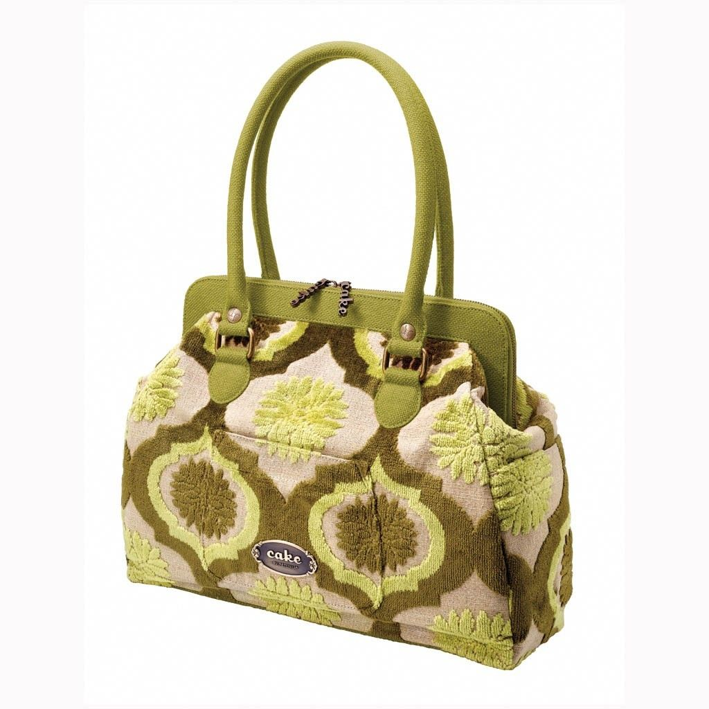 Petunia pickle Bottom Sac à couches Petunia Pickle Bottom Cake Cosmopolitan Carryall - Key Lime Cream Cake