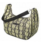 Petunia pickle Bottom Sac à couches en brocard Petunia Pickle Bottom - Touring Tote - Citrine roll