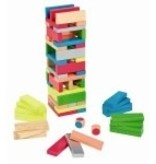 Janod Assortiment de Blocs Janod-Equilibloc Color