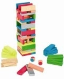 Assortiment de Blocs Janod-Equilibloc Color
