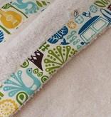 Oko Créations Serviette à capuchon pour bébés Biologique-Ukulele Oko créations