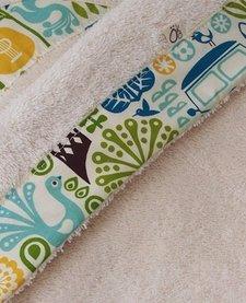 Serviette à capuchon pour bébés Biologique-Ukulele Oko créations
