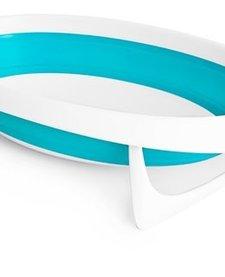 Baignoire Rétractable Boon Naked Collapsible Bathub Bleu et Blanc
