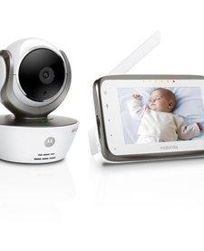 Caméra Wi-Fi moniteur vidéo bébé de Motorola/Baby Monitor Camera
