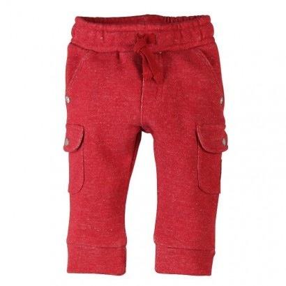 Boboli Pantalon Cargo en Coton Ouaté de Boboli/Pantalon Molleton Bicolour