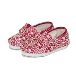 TOMS Chaussures TOMS Shoes - Pink Crochet Glitter