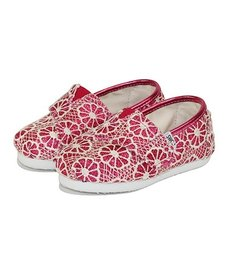 Chaussures TOMS Shoes - Pink Crochet Glitter