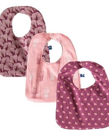 Ensemble de 3 Bavettes Kickee Pants/ Bibs Set of 3