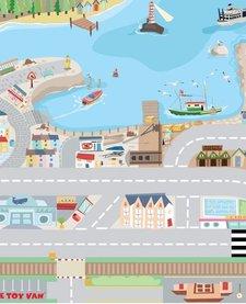 Tapis de Jeu Portuaire de Toy Van/Harbour Playmat-80x120 cm