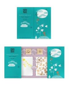 Ensemble de Papiers et Tampons Mon Petit Art/Paper Dreams